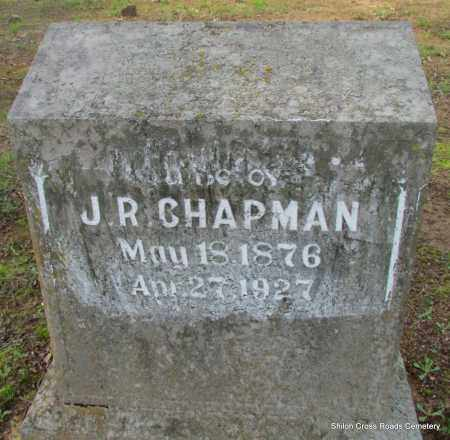 CHAPMAN, J R - Cleburne County, Arkansas | J R CHAPMAN - Arkansas Gravestone Photos
