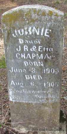 CHAPMAN, JUNNIE - Cleburne County, Arkansas | JUNNIE CHAPMAN - Arkansas Gravestone Photos
