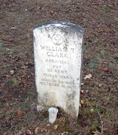 CLARK (VETERAN WWI), WILLIAM T. - Cleburne County, Arkansas | WILLIAM T. CLARK (VETERAN WWI) - Arkansas Gravestone Photos