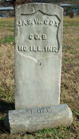 COX (VETERAN UNION), JAMES W. - Cleburne County, Arkansas | JAMES W. COX (VETERAN UNION) - Arkansas Gravestone Photos
