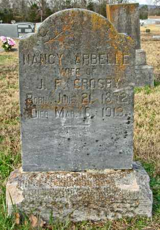 CROSBY, NANCY ARBELLE - Cleburne County, Arkansas | NANCY ARBELLE CROSBY - Arkansas Gravestone Photos