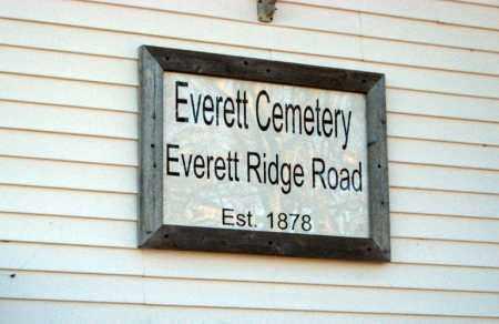 * EVERETT, CEMETERY PHOTO - Cleburne County, Arkansas | CEMETERY PHOTO * EVERETT - Arkansas Gravestone Photos