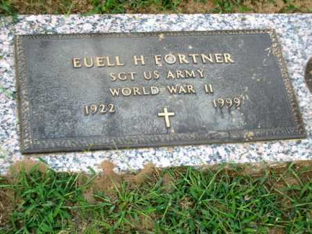 FORTNER (VETERAN WWII), EUELL - Cleburne County, Arkansas | EUELL FORTNER (VETERAN WWII) - Arkansas Gravestone Photos