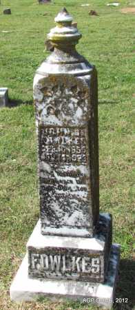 FOWLKES, JOHN C - Cleburne County, Arkansas | JOHN C FOWLKES - Arkansas Gravestone Photos
