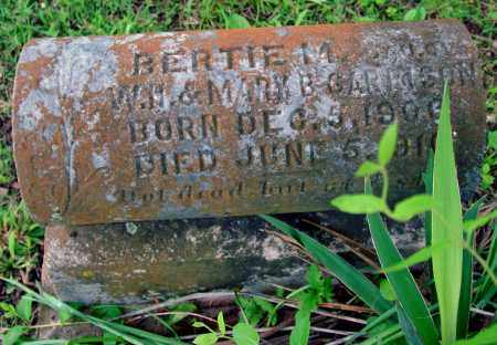 GARRISON, BERTIE M. - Cleburne County, Arkansas | BERTIE M. GARRISON - Arkansas Gravestone Photos