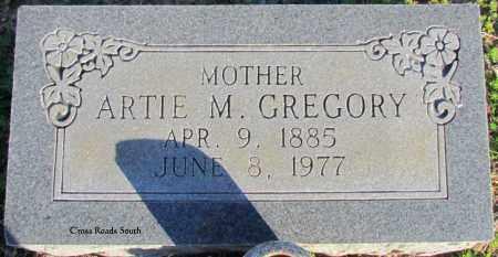 GREGORY, ARTIE M - Cleburne County, Arkansas | ARTIE M GREGORY - Arkansas Gravestone Photos
