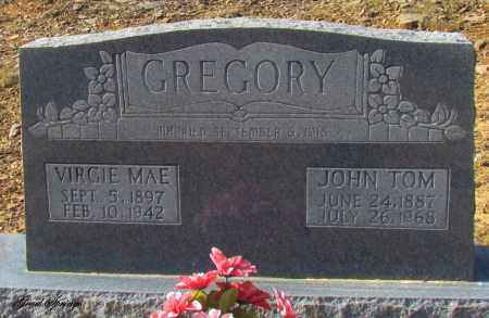 GREGORY, VIRGIE MAE - Cleburne County, Arkansas | VIRGIE MAE GREGORY - Arkansas Gravestone Photos