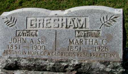 GRESHAM, MARTHA C. - Cleburne County, Arkansas | MARTHA C. GRESHAM - Arkansas Gravestone Photos