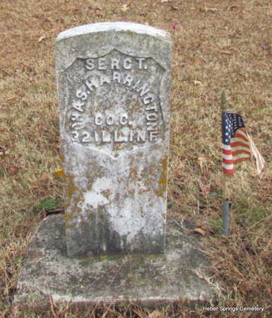 HARRINGTON (VETERAN UNION), CHARLES - Cleburne County, Arkansas   CHARLES HARRINGTON (VETERAN UNION) - Arkansas Gravestone Photos