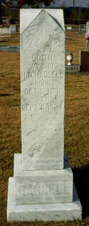 HASSELL, EDITH H. - Cleburne County, Arkansas   EDITH H. HASSELL - Arkansas Gravestone Photos