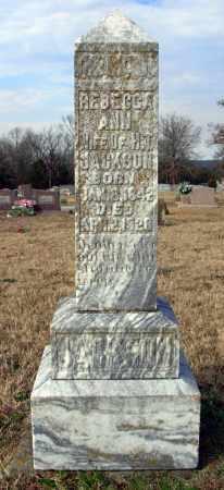 JACKSON, REBECCA ANN - Cleburne County, Arkansas   REBECCA ANN JACKSON - Arkansas Gravestone Photos