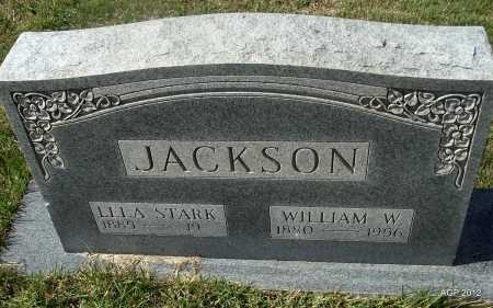 JACKSON, WILLIAM W - Cleburne County, Arkansas | WILLIAM W JACKSON - Arkansas Gravestone Photos
