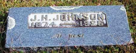 JOHNSON, J H - Cleburne County, Arkansas | J H JOHNSON - Arkansas Gravestone Photos