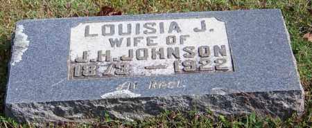 JOHNSON, LOUISA J - Cleburne County, Arkansas   LOUISA J JOHNSON - Arkansas Gravestone Photos