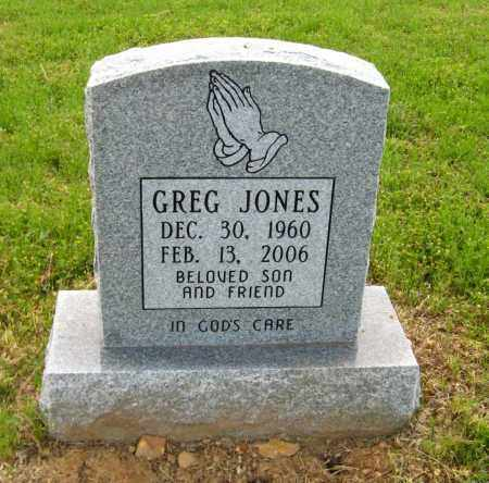 JONES, GREG - Cleburne County, Arkansas   GREG JONES - Arkansas Gravestone Photos