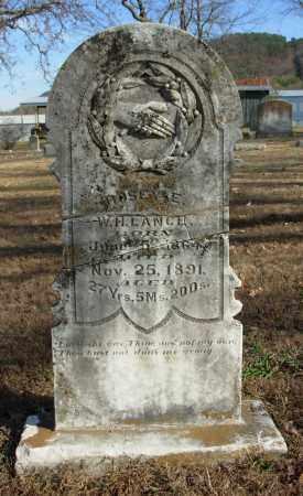 LANCE, ROSEY E. - Cleburne County, Arkansas | ROSEY E. LANCE - Arkansas Gravestone Photos