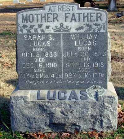 LUCAS, SARAH S. - Cleburne County, Arkansas | SARAH S. LUCAS - Arkansas Gravestone Photos