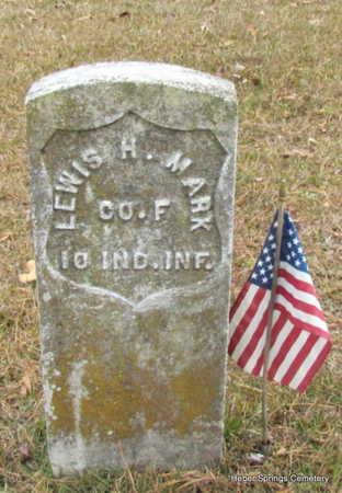 MARK (VETERAN UNION), LEWIS H. - Cleburne County, Arkansas | LEWIS H. MARK (VETERAN UNION) - Arkansas Gravestone Photos
