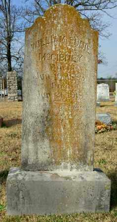 MCGIBNEY, WILLIAM EDDIE - Cleburne County, Arkansas | WILLIAM EDDIE MCGIBNEY - Arkansas Gravestone Photos