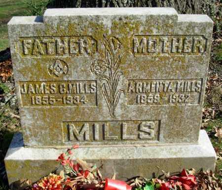 MILLS, JAMES C. - Cleburne County, Arkansas | JAMES C. MILLS - Arkansas Gravestone Photos