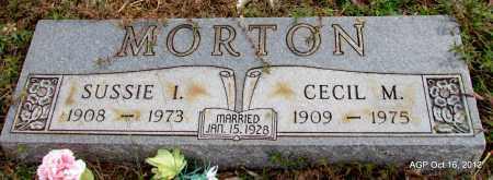 MORTON, SUSSIE I - Cleburne County, Arkansas | SUSSIE I MORTON - Arkansas Gravestone Photos