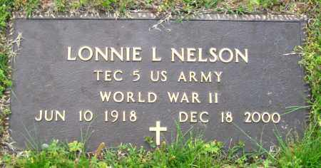 NELSON  (VETERAN WWII), LONNIE L. - Cleburne County, Arkansas | LONNIE L. NELSON  (VETERAN WWII) - Arkansas Gravestone Photos