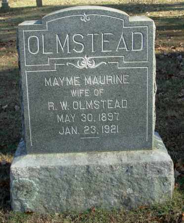 BAKER OLMSTEAD, MAYME MAURINE - Cleburne County, Arkansas | MAYME MAURINE BAKER OLMSTEAD - Arkansas Gravestone Photos
