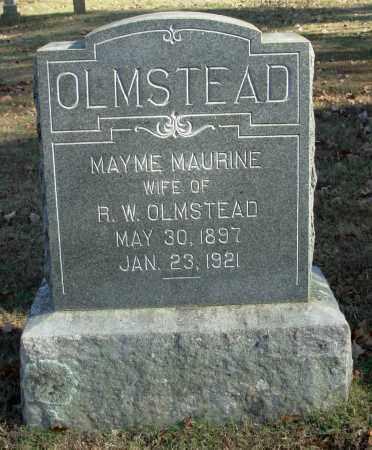 OLMSTEAD, MAYME MAURINE - Cleburne County, Arkansas | MAYME MAURINE OLMSTEAD - Arkansas Gravestone Photos