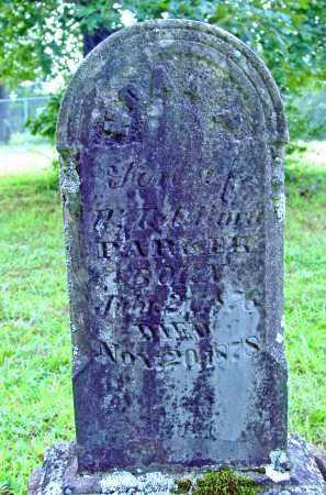 PARKER, NOAH P. - Cleburne County, Arkansas | NOAH P. PARKER - Arkansas Gravestone Photos