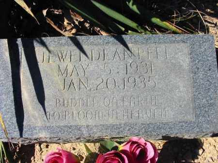 PEEL, JEWEL DEAN - Cleburne County, Arkansas | JEWEL DEAN PEEL - Arkansas Gravestone Photos