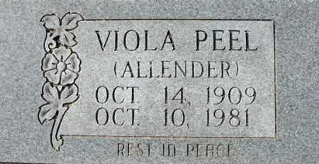 PEEL, VIOLA - Cleburne County, Arkansas | VIOLA PEEL - Arkansas Gravestone Photos