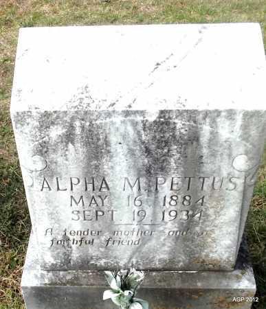 PETTUS, ALPHA M - Cleburne County, Arkansas | ALPHA M PETTUS - Arkansas Gravestone Photos