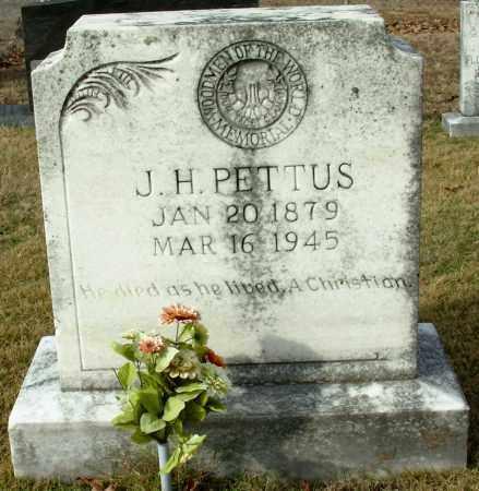 PETTUS, J. H. - Cleburne County, Arkansas   J. H. PETTUS - Arkansas Gravestone Photos