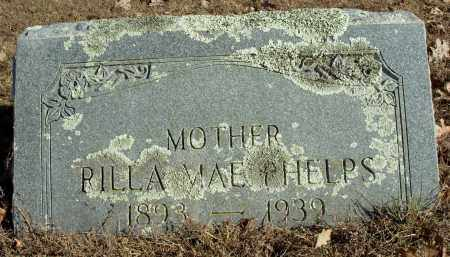 ABRAM PHELPS, RILLA MAY - Cleburne County, Arkansas | RILLA MAY ABRAM PHELPS - Arkansas Gravestone Photos