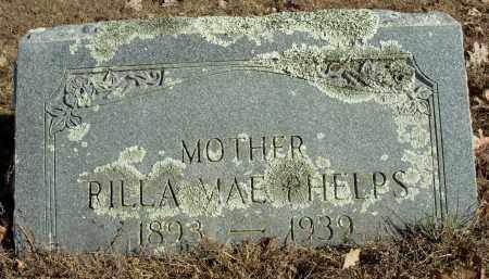 ABRAM PHELPS, RILLA MAY - Cleburne County, Arkansas | RILLA MAY ABRAM PHELPS - Arkansas Gravestone Photos