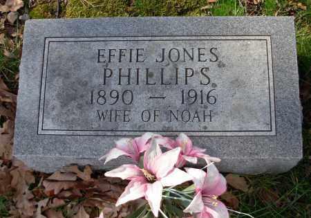 JONES PHILLIPS, EFFIE - Cleburne County, Arkansas | EFFIE JONES PHILLIPS - Arkansas Gravestone Photos