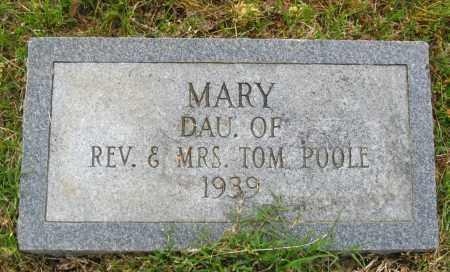 POOLE, MARY - Cleburne County, Arkansas | MARY POOLE - Arkansas Gravestone Photos