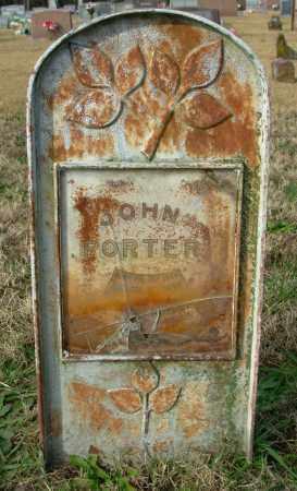 PORTER, JOHN - Cleburne County, Arkansas | JOHN PORTER - Arkansas Gravestone Photos