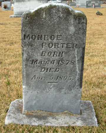 PORTER, MONROE - Cleburne County, Arkansas | MONROE PORTER - Arkansas Gravestone Photos