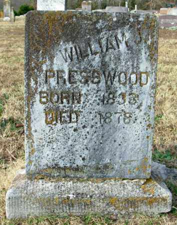PRESSWOOD, WILLIAM J. - Cleburne County, Arkansas | WILLIAM J. PRESSWOOD - Arkansas Gravestone Photos