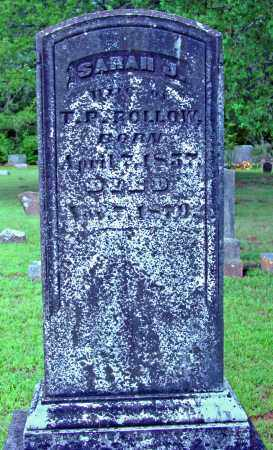 ROLLOW, SARAH J. - Cleburne County, Arkansas   SARAH J. ROLLOW - Arkansas Gravestone Photos