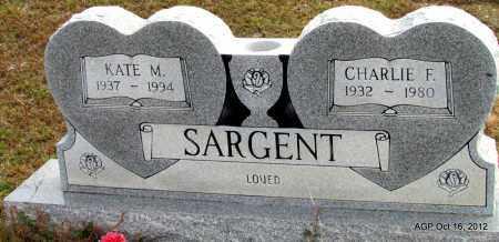 SARGENT, KATE M - Cleburne County, Arkansas | KATE M SARGENT - Arkansas Gravestone Photos