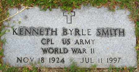 SMITH (VETERAN WWII), KENNETH BYRLE - Cleburne County, Arkansas | KENNETH BYRLE SMITH (VETERAN WWII) - Arkansas Gravestone Photos