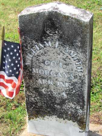 SMITH (VETERAN CSA), WILLIAM F - Cleburne County, Arkansas | WILLIAM F SMITH (VETERAN CSA) - Arkansas Gravestone Photos