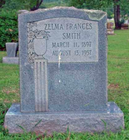 SMITH, ZELMA FRANCES - Cleburne County, Arkansas | ZELMA FRANCES SMITH - Arkansas Gravestone Photos