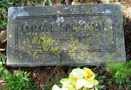 SPELLMAN, EMMA LOUISE - Cleburne County, Arkansas | EMMA LOUISE SPELLMAN - Arkansas Gravestone Photos