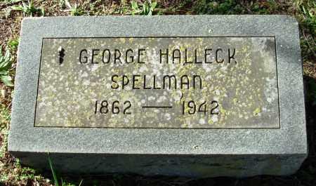 SPELLMAN, GEORGE HALLECK - Cleburne County, Arkansas   GEORGE HALLECK SPELLMAN - Arkansas Gravestone Photos