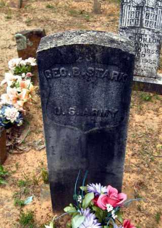 STARK (VETERAN UNION), GEORGE B. - Cleburne County, Arkansas   GEORGE B. STARK (VETERAN UNION) - Arkansas Gravestone Photos