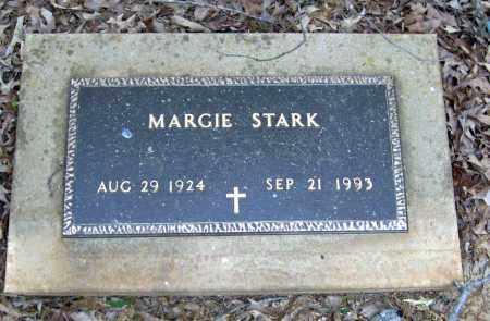 STARK, MARGIE - Cleburne County, Arkansas   MARGIE STARK - Arkansas Gravestone Photos