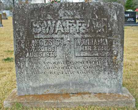SWAFFAR, FRANCES C. - Cleburne County, Arkansas | FRANCES C. SWAFFAR - Arkansas Gravestone Photos
